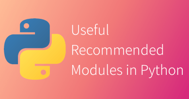 Python Useful Modules