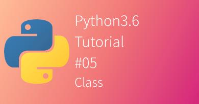 Python 3.6 Tutorial Class