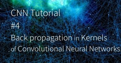 CNN 卷積神經網路 卷積核 backward pass backpropagation kernel