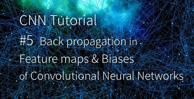 CNN 卷積神經網路 卷積核 backward pass backpropagation feature maps biases