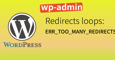 Wordpress SSL_ERR_TOO_MANY_REDIRECTS