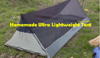 [Video] DIY Lightweight Tent. One Man Bivy Tent