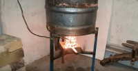 [Video] Find Out How This DIY Waste Oil Burner Work Its
