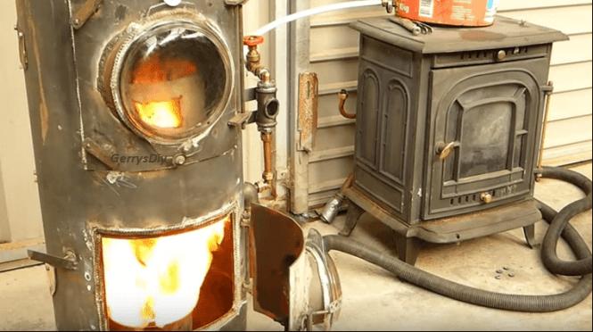 Waste Oil Stove Homemade Burner