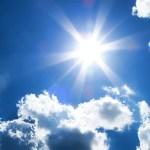 Solar Energy Sun and Clouds