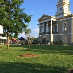 The State of Origin Festival was held on the grounds of the historic Burke County courthouse in Morganton, NC.
