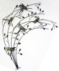 NEW - Contemporary Metal Wall Art Decor Or Sculpture ...