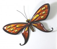 a tin butterfly