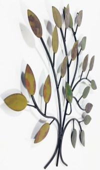 Metal Wall Art - Calm Spring Tree Branch