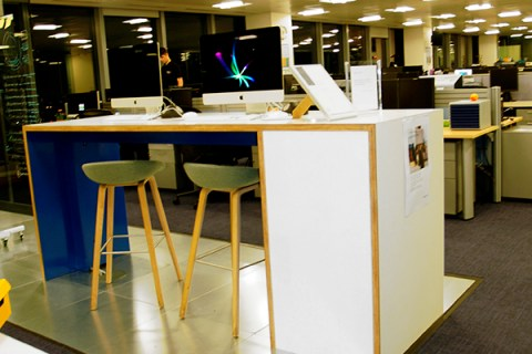 Bespoke office furniture - Brilliart Ltd. for Barclays