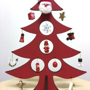 Christmas tree with figurines