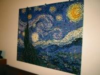 Starry Night LEGO Mosaic