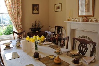 Dinning room Brimford House Shrewsbury
