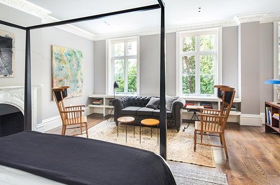 bedroom 1 Brokers: Fredrik Eklund and John Gomes of Douglas Elliman; Photographer: Evan Joseph