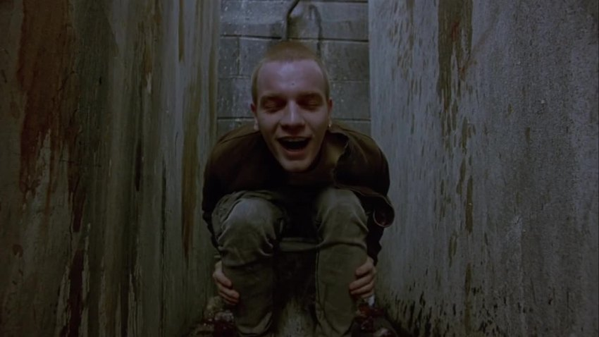 Trainspotting, ''The Worst Toilet In Scotland'' scene