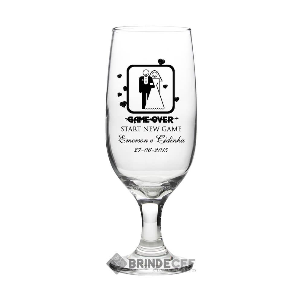Taças de Vidro Personalizadas de Champanhe Gallant 180ml 5