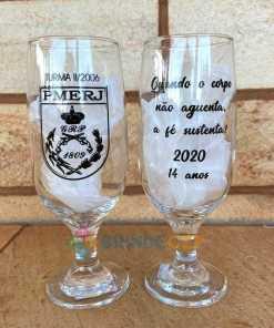 Taças de Vidro Personalizadas de Cerveja Floripa 300ml 14