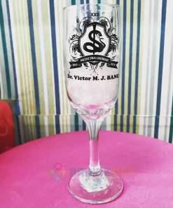 Taças de Vidro Personalizadas de Champanhe Gallant 180ml 2