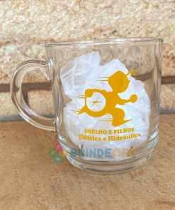 Canecas de Café de Vidro Modelo Aspen 300ml Personalizadas para Brindes e Eventos 4