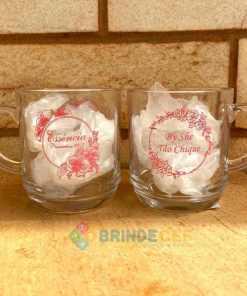 Canecas de Café de Vidro Modelo Aspen 300ml Personalizadas para Brindes e Eventos 13