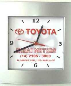 Relógio de Parede Personalizado Social 2