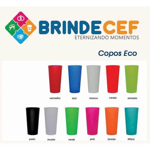 Copo de Plástico Ecológico 600ml Personalizado