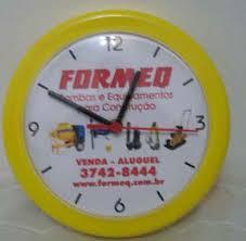 Relógios de Parede Personalizados Redondo 2