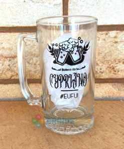 Canecas de Vidro Para Cerveja Personalizadas 383mL Manhattan 1