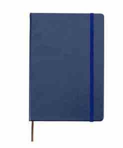 Caderneta tipo Moleskine de Couro Sintético 1