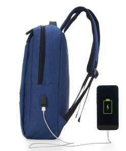 Mochila de Nylon USB 18L Personalizada 4