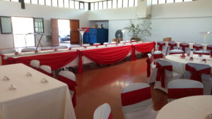 Drapé de table de mariés