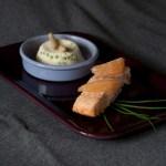 Pavé saumon asperges N.Petrel