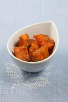 Potiron rôti aux épices