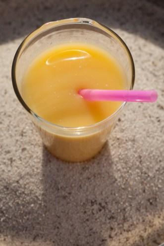 Ti-punch Cricri ananas, mangue et lait de coco