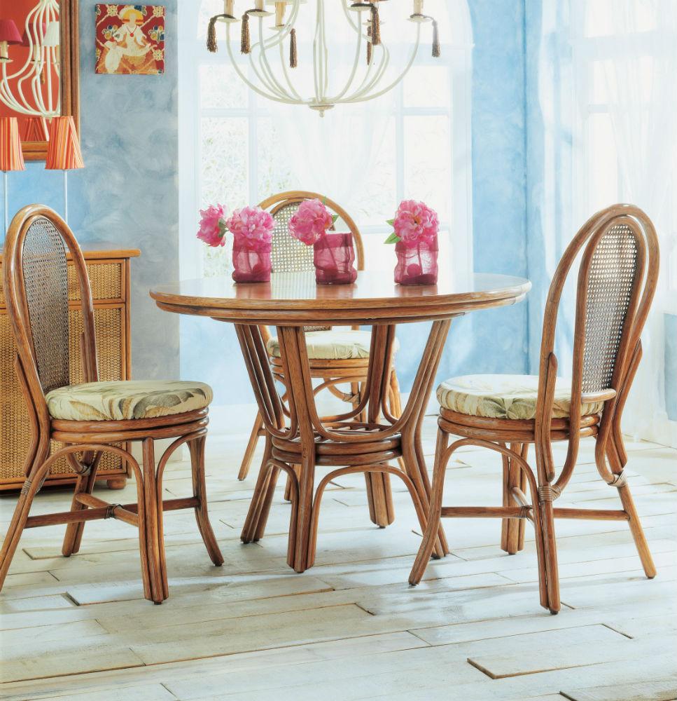 table ronde 90 cm avec rallonge