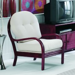 Salon Chair Mat Hideaway Table And Chairs Argos Fauteuil De En Rotin - Brin D'ouest