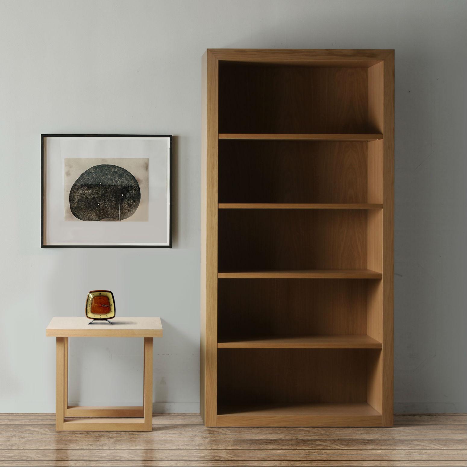 bibliotheque design en bois brin d ouest