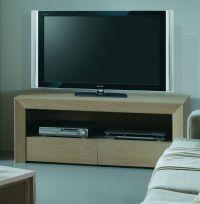 Meuble TV design en bois - Brin d'Ouest