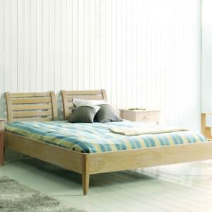 lit bois massif et design meubles