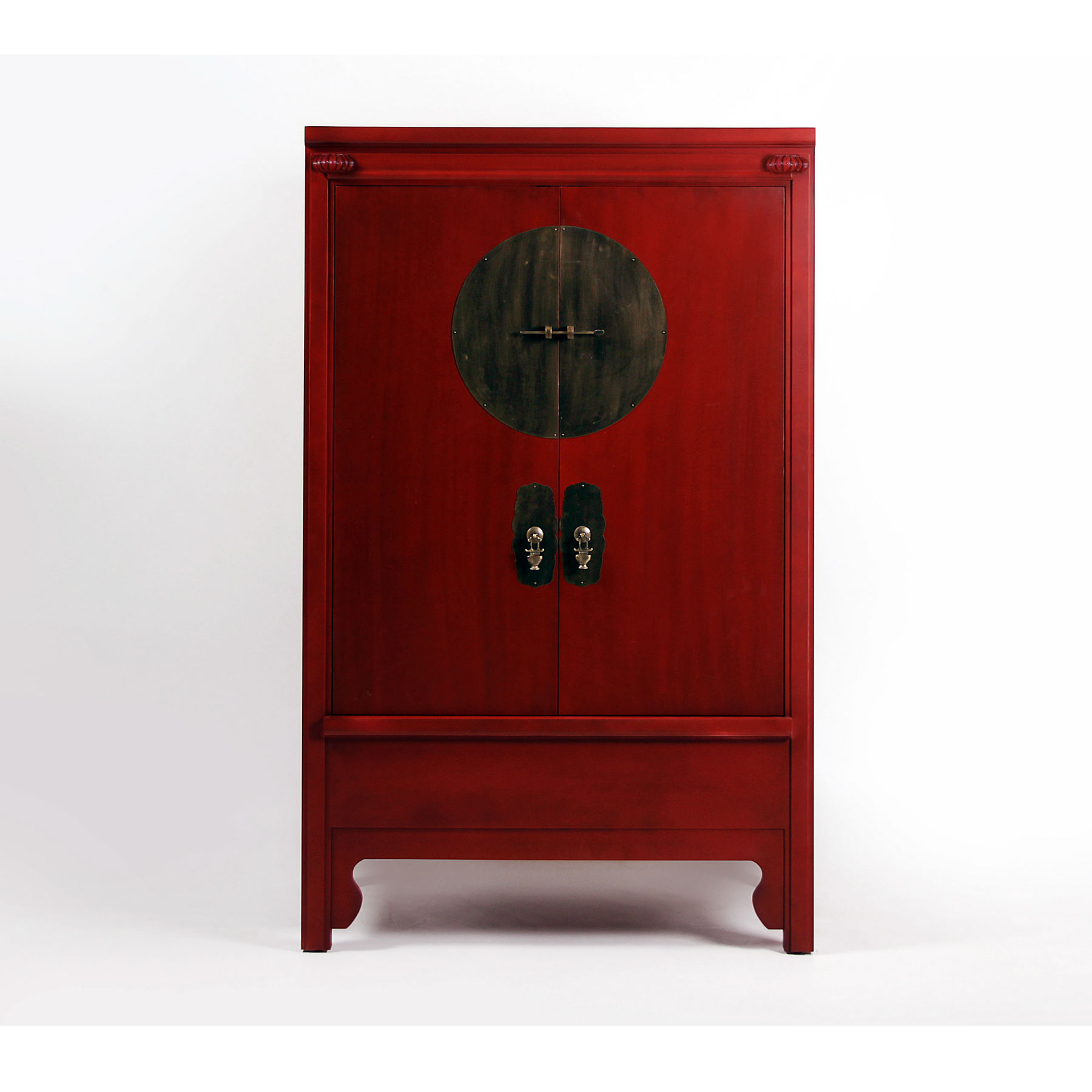 armoire chinoise rouge
