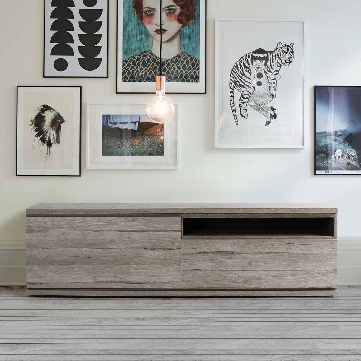 meuble tv 160 cm design