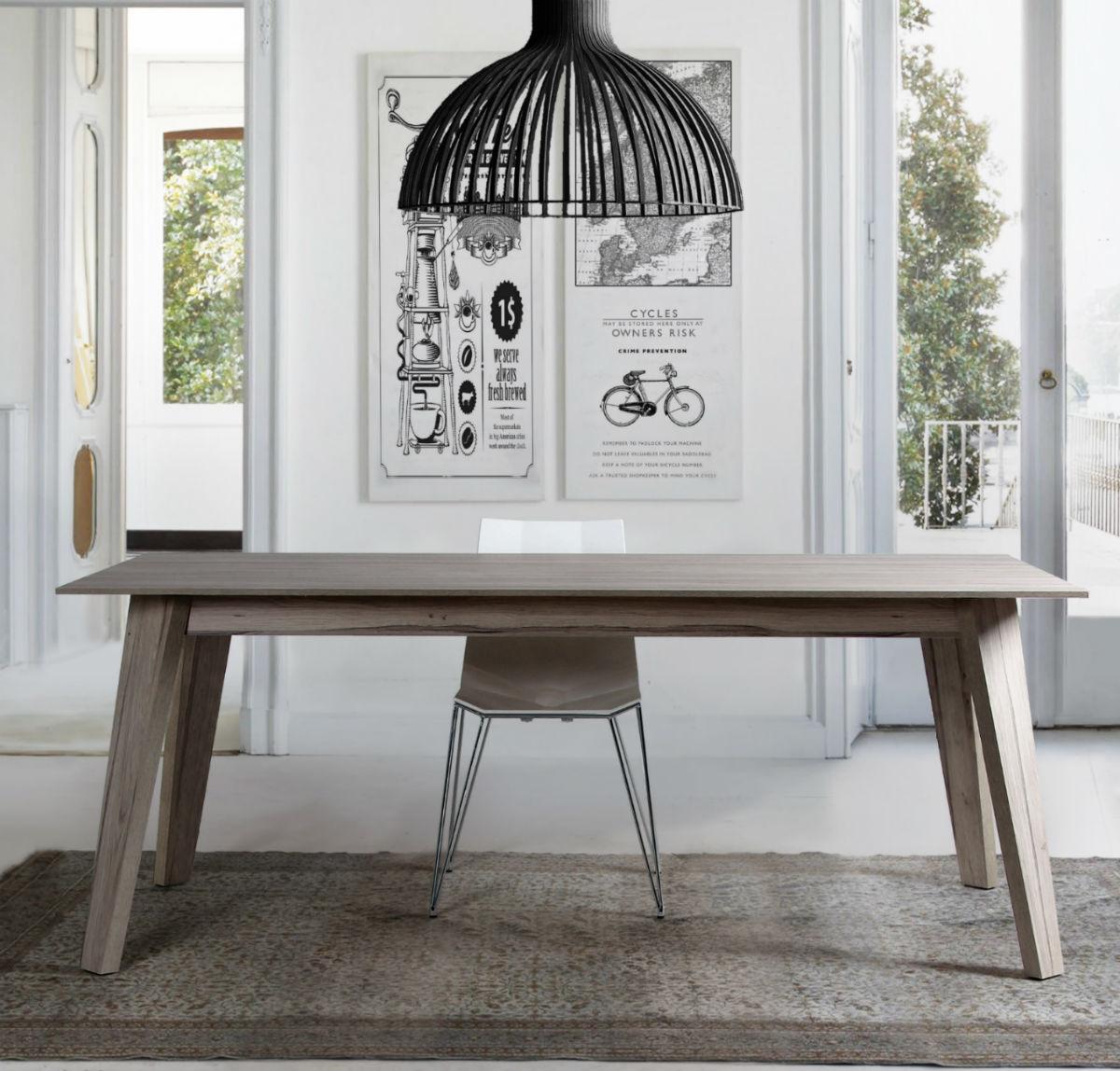 table de salle a manger style scandinave