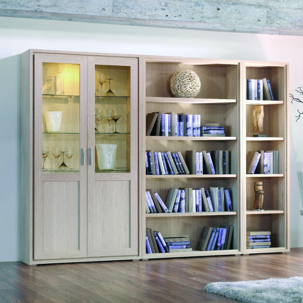 Bibliothque contemporaine en bois design  Brin dOuest