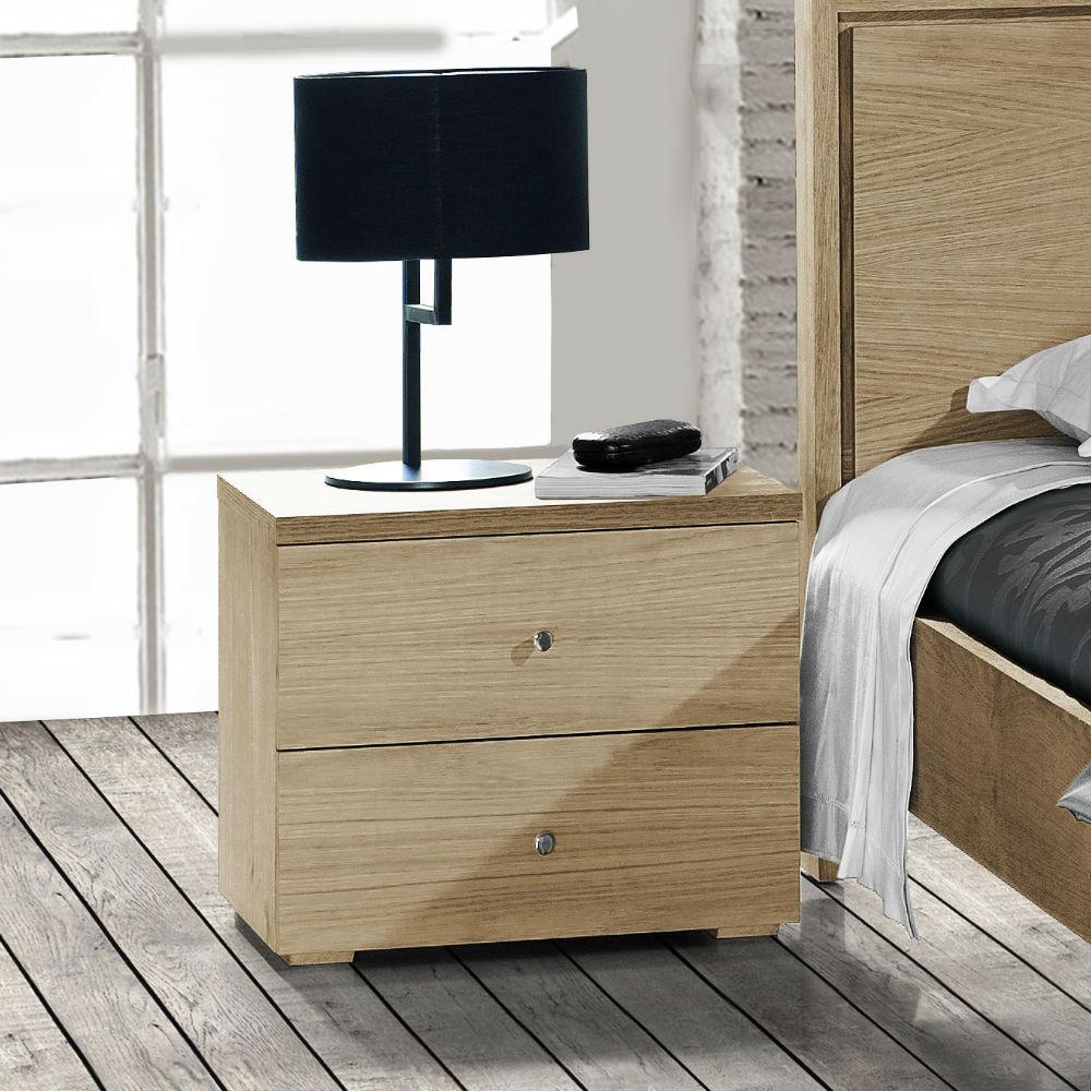 Table de nuit moderne en bois  Brin dOuest