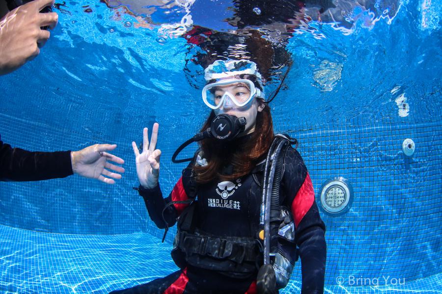 【墾丁好玩潛水體驗】被魚群包圍的海中美景。潛莊後壁湖岸潛&專業攝影   BringYou