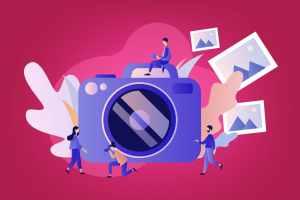 Ilustração-representando-imagem-de-marca-e-fotografia-publicitaria