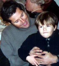 Goldman and his son, Sean.