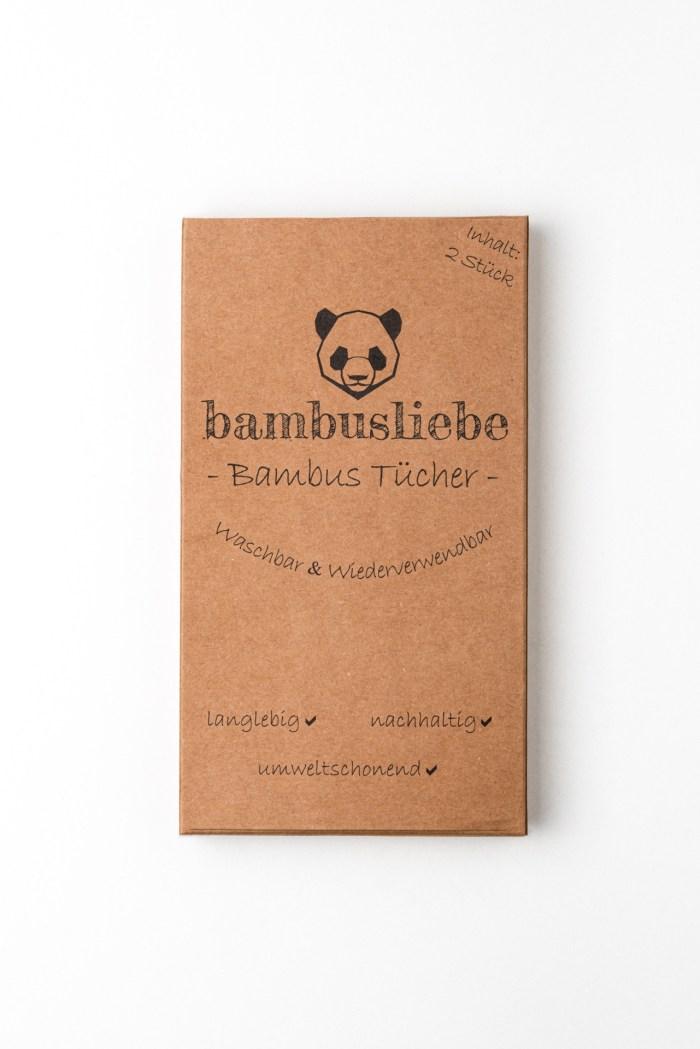 Wiederverwendbare Putztücher Bambusliebe Produktbild 1