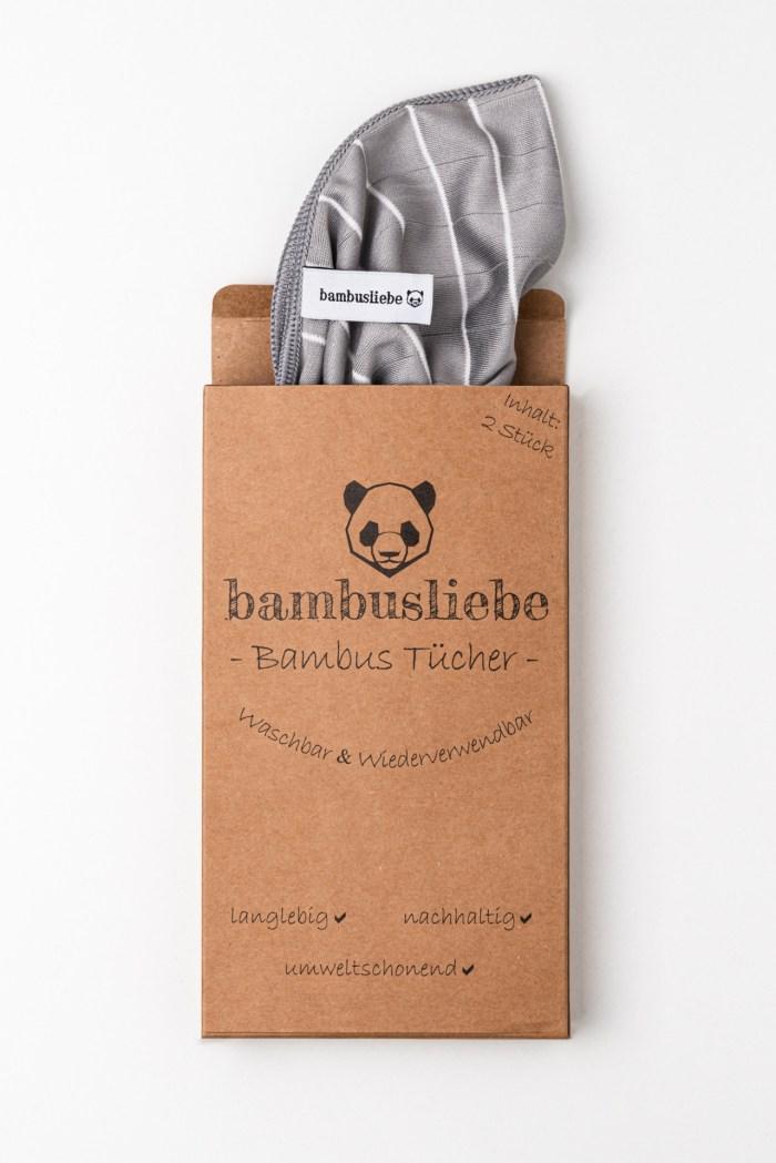 Wiederverwendbare Putztücher Bambusliebe Produktbild 2