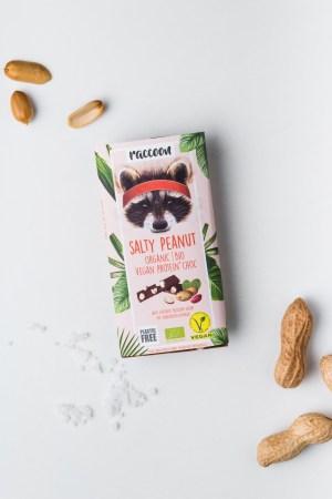 Proteinschokolade Salty Peanut Racoon Produktbild 1